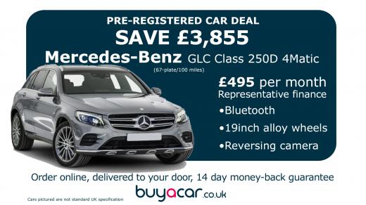 Best Pre Registered Car Deals Uk