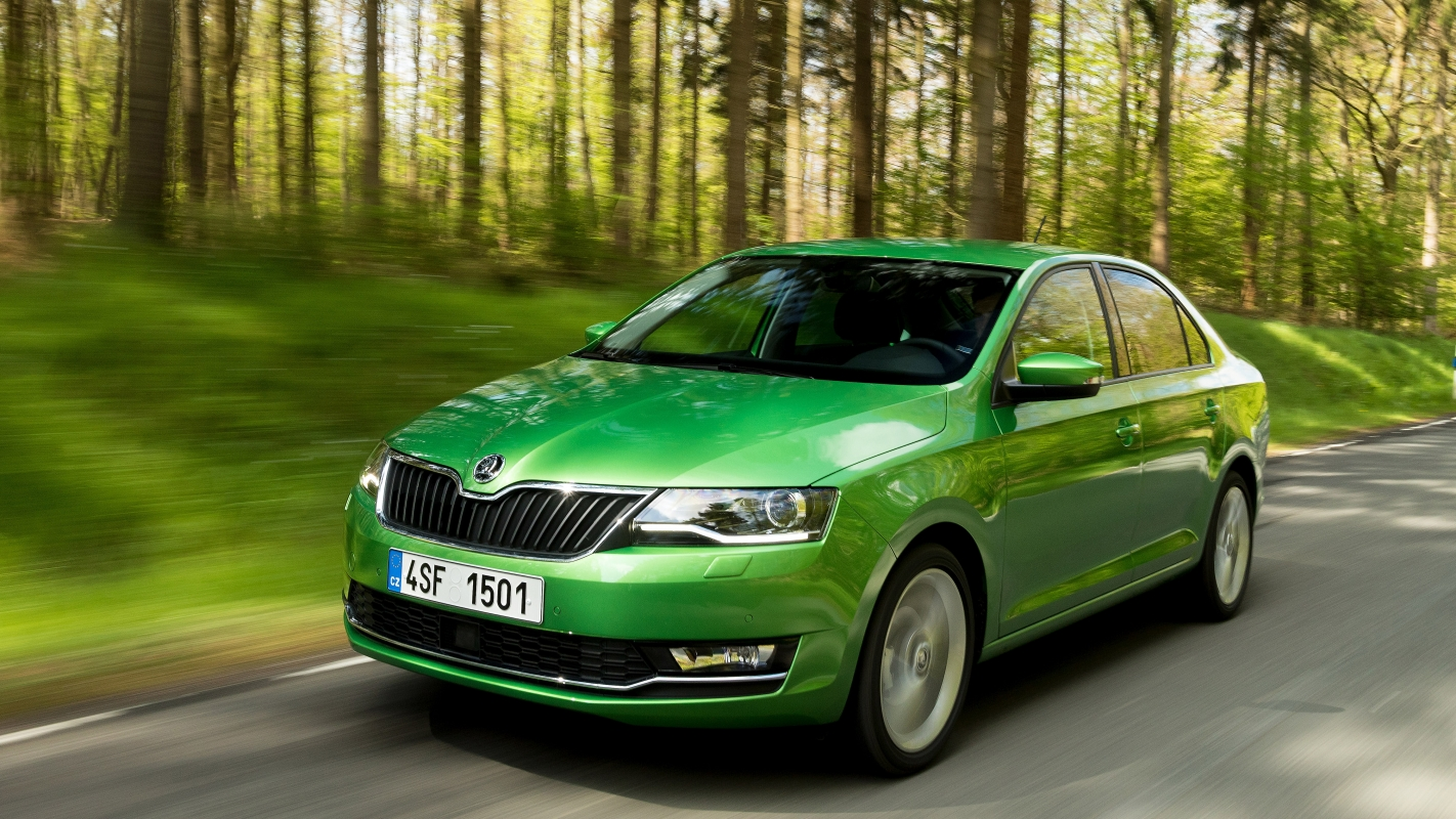Skoda Rapid Review And Buying Guide Best Deals Prices Buyacar Pick Up 1 3 Engine Diagram The Is A Budget Alternative To Family Cars Such As Ford Focus Volkswagen Golf