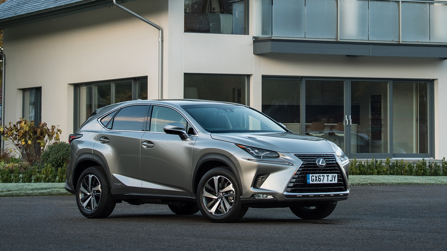 Sharp Edge Design And Hybrid Power Makes The Lexus NX A Unique Family SUV