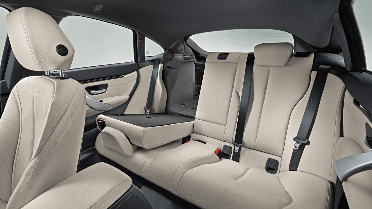 BMW 4 Series Gran Coupe rear seats