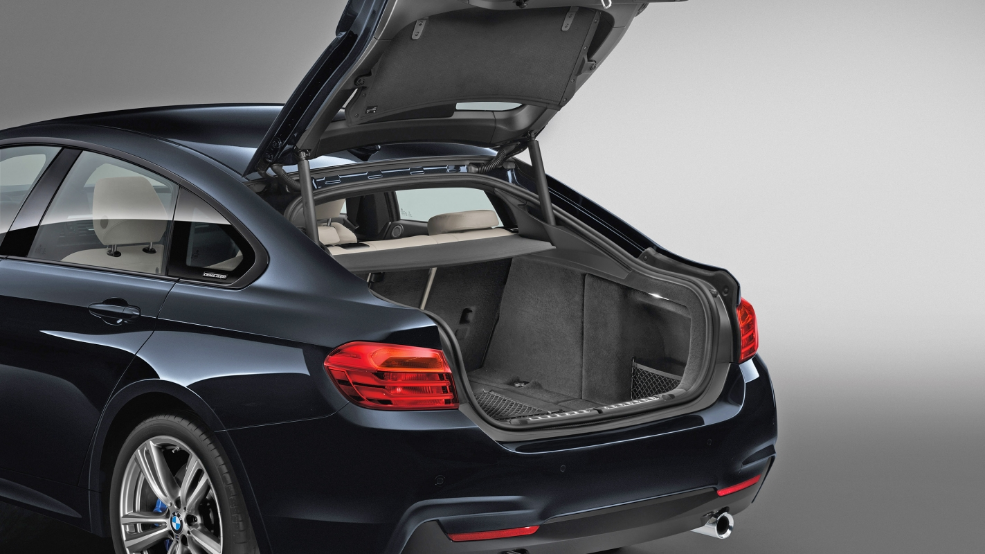 BMW 4 Series Gran Coupe boot