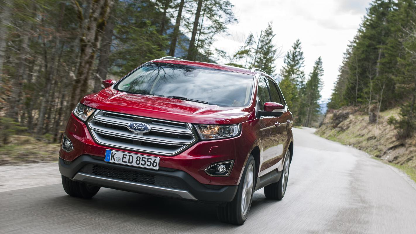 The Ford Edge Brings Super Size Family Suv Motoring To Britain