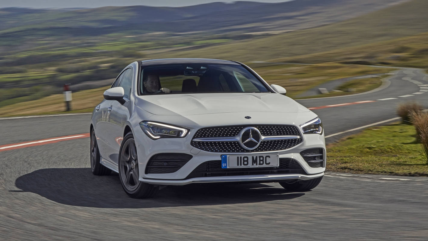 Mercedes CLA Coupe front