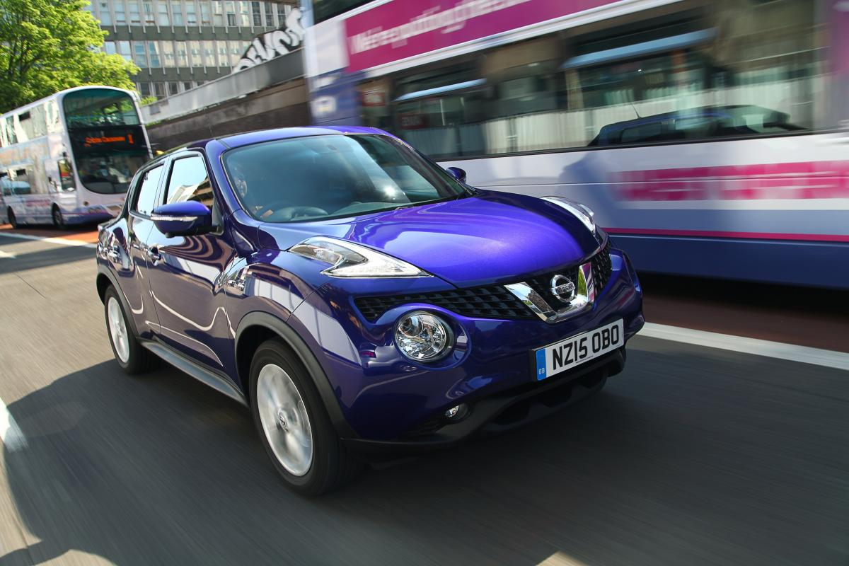 Stand Out Styling Makes The Nissan Juke Distinctive On Road