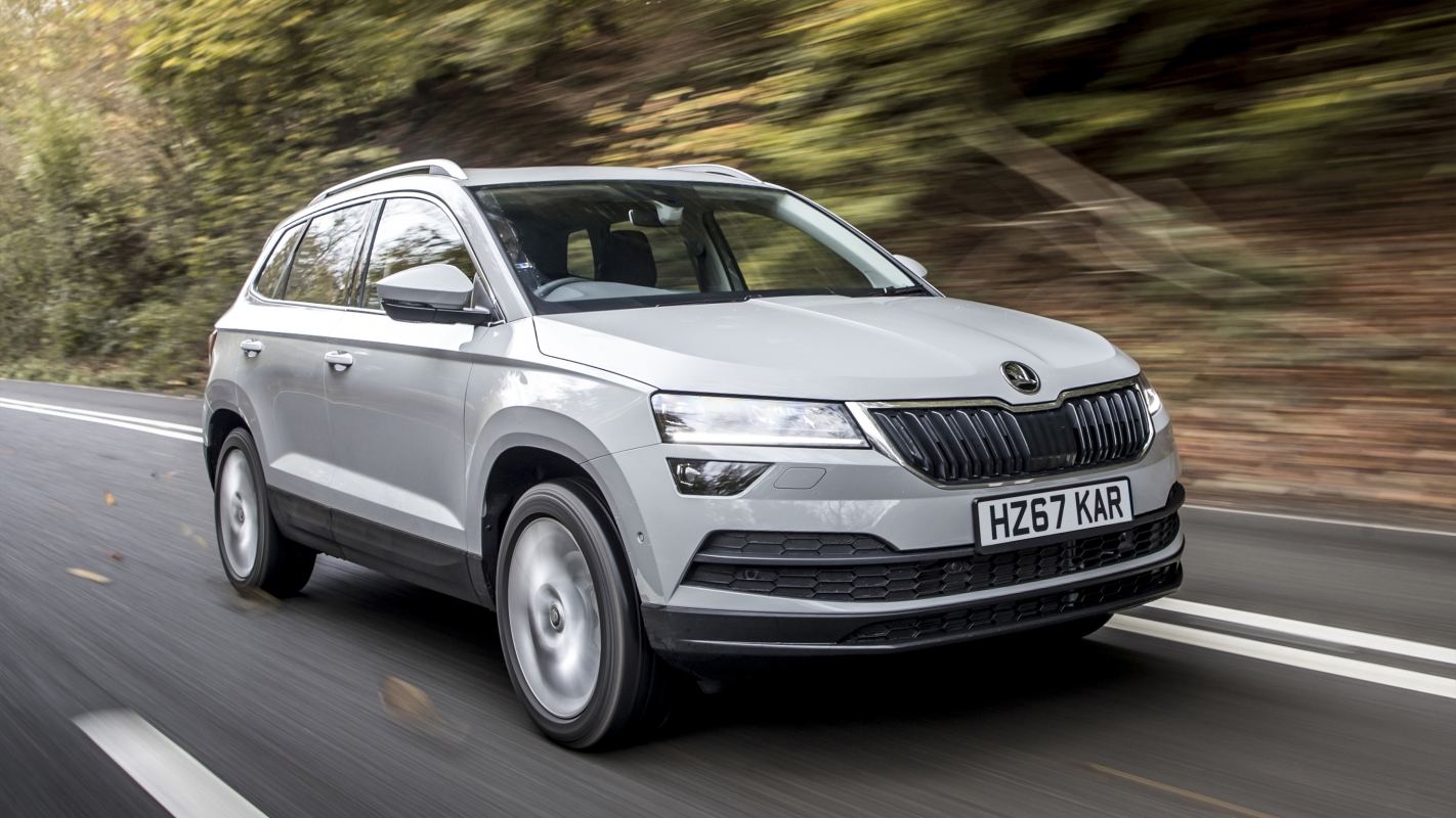 skoda karoq review and buying guide best deals and prices buyacar. Black Bedroom Furniture Sets. Home Design Ideas