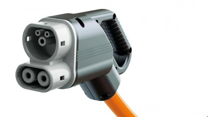 CSS EV charging cable