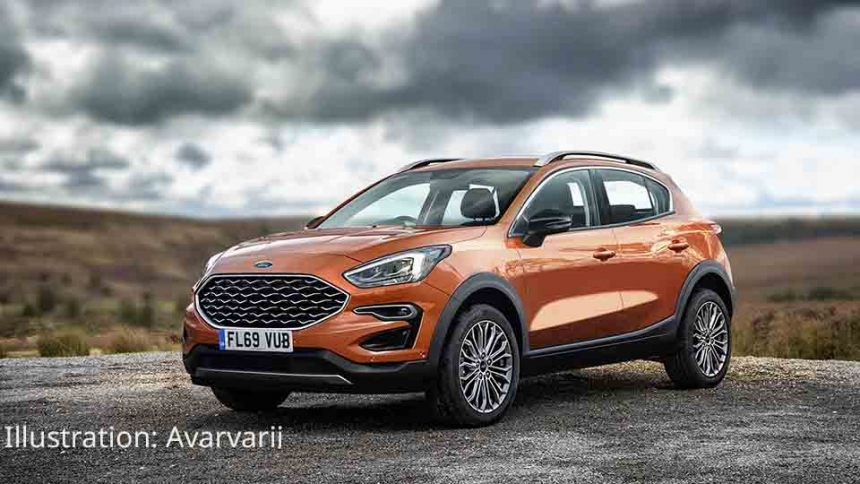 2020 Ford EcoSport Spy Photos And New Generation >> Ford Fiesta Suv Buyacar