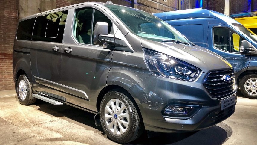 New 2019 Ford Transit Custom Hybrid Review And Details Buyacar